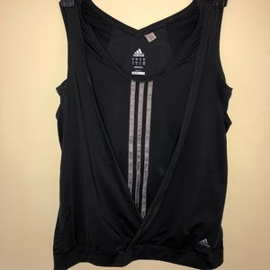 3/$30 adidas climacool tank. Hides belly! Black M